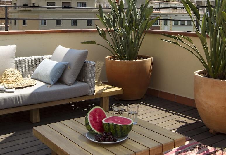 MONTABER Rambla Cataluña, Barcelona, Deluxe Duplex, 1 Bedroom (4 people), Terrace/Patio