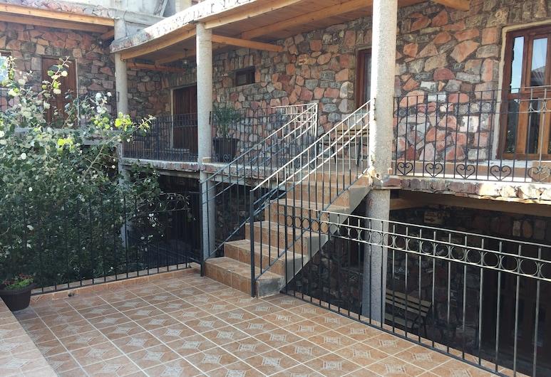 Hotel Real Bonanza, Real de Catorce, Habitación estándar, 1 cama de matrimonio grande, Terraza o patio