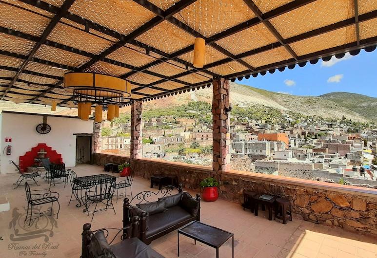 Hotel Ruinas del Real, Реаль-де-Каторсе, Тераса/внутрішній дворик