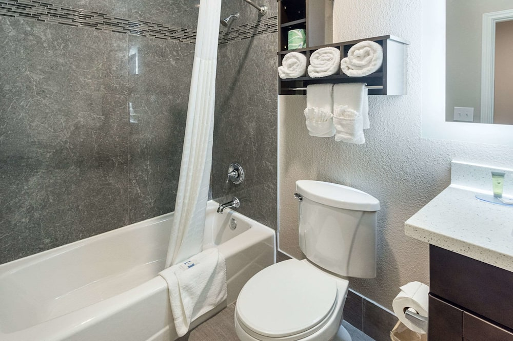 Efficiency, 套房, 2 張加大雙人床, 吸煙房 - 浴室