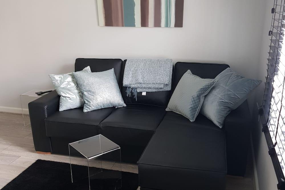 Executive-Apartment, eigenes Bad - Wohnzimmer