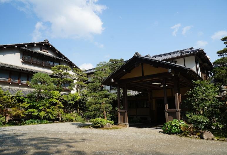 Meisho Sansuien - Yuda Onsen -, Yamaguchi, Įėjimas į viešbutį
