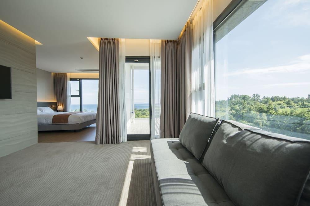 普通套房, 陽台, 海景 - 客房