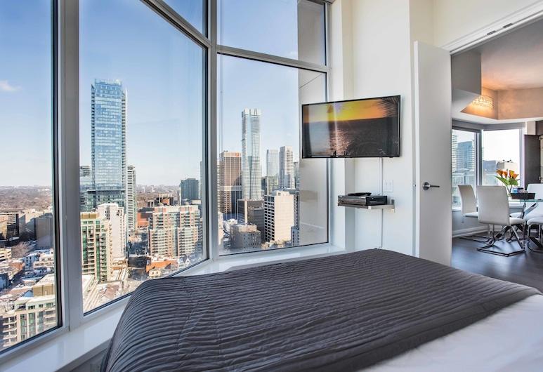 Altitude Suites Bellamond Yorkville, Toronto, Apartamento, 1 Quarto, Quarto