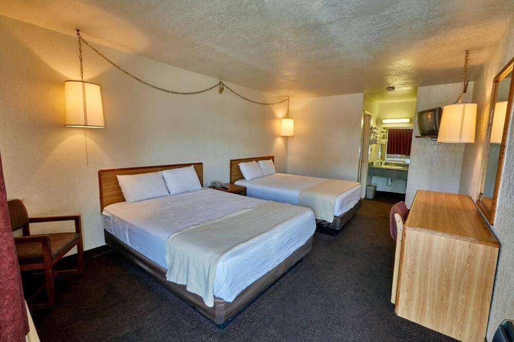 ห้องสแตนดาร์ด, เตียงควีนไซส์ 2 เตียง, สูบบุหรี่ได้ - ห้องพัก