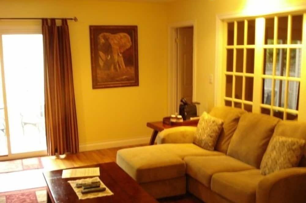 Apartmá typu Superior, 1 ložnice, vířivka, přízemí - Obývací prostor