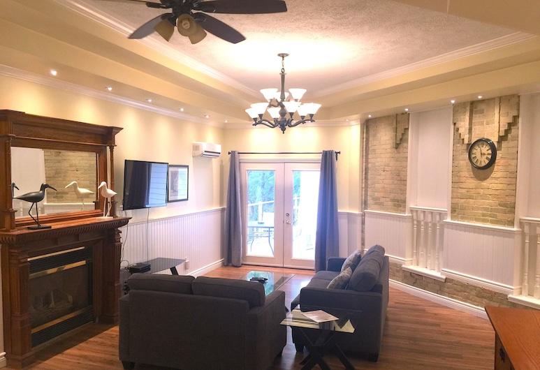 Grey Rose Suites, Hanover, Suite Grand, 2 kamar tidur, perapian, Ruang Keluarga