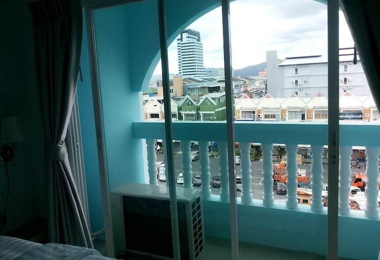鴨子酒店, 布吉, 標準雙床房, 陽台