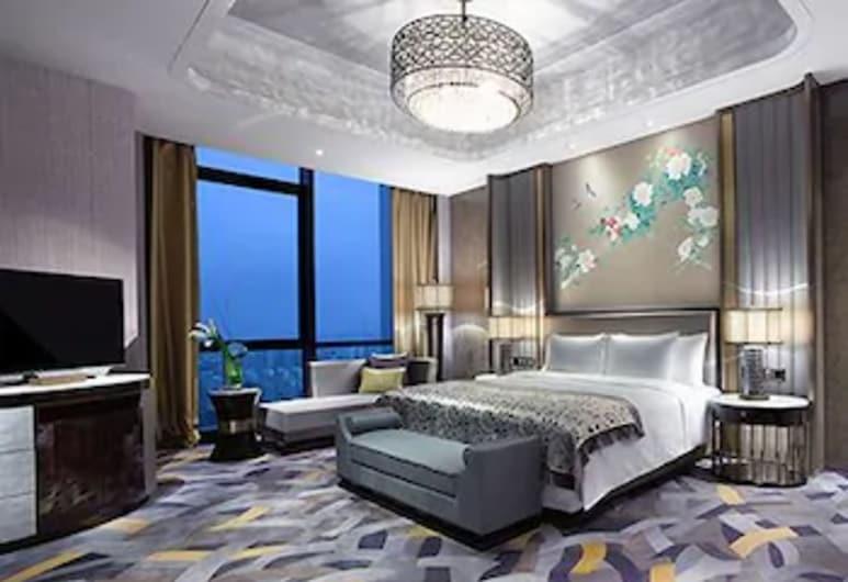 Wanda Vista Zhengzhou, Zhengzhou, Executive-Doppelzimmer, Zimmer