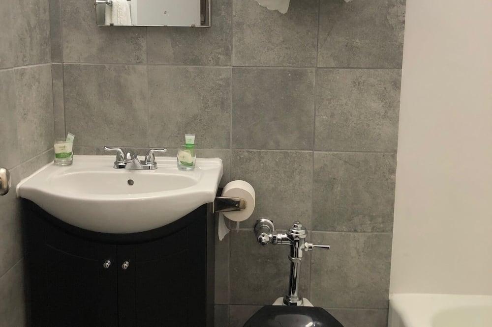 Deluxe-enkeltværelse - 2 dobbeltsenge - Badeværelse
