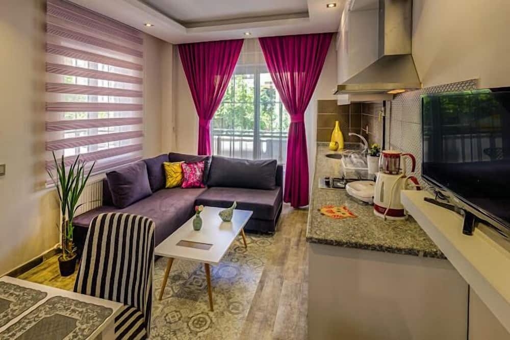 Apartment, Garden Suite - אזור מגורים