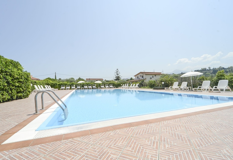 Villa Teti - Sicilia, Campofelice di Roccella, Apartamento, 1 habitación, Piscina al aire libre