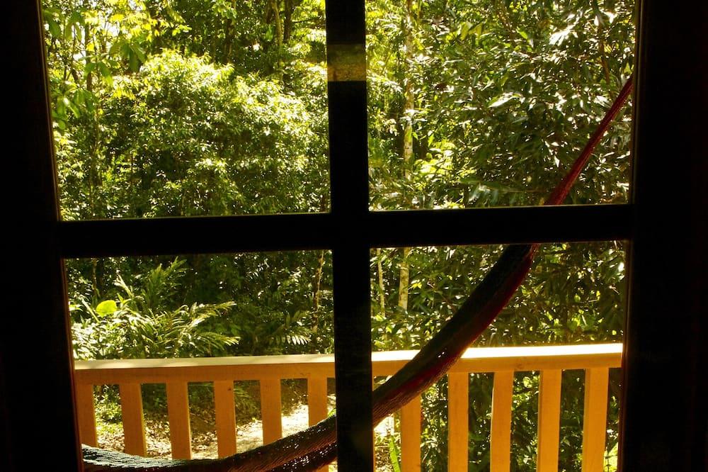 Kamar Quadruple Deluks, 2 kamar tidur, pemandangan halaman - Balkon