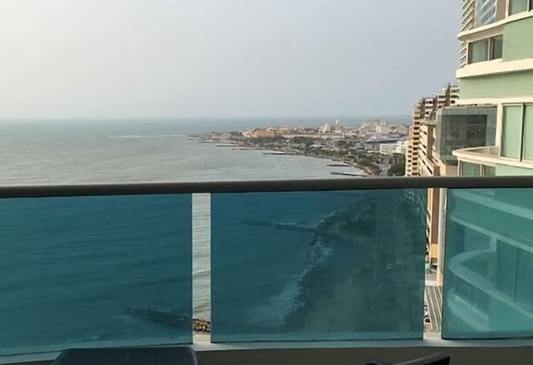 Apartamentos Frente Al Mar Cartagena Edificio Infinito, Cartagena, Ausblick von der Unterkunft