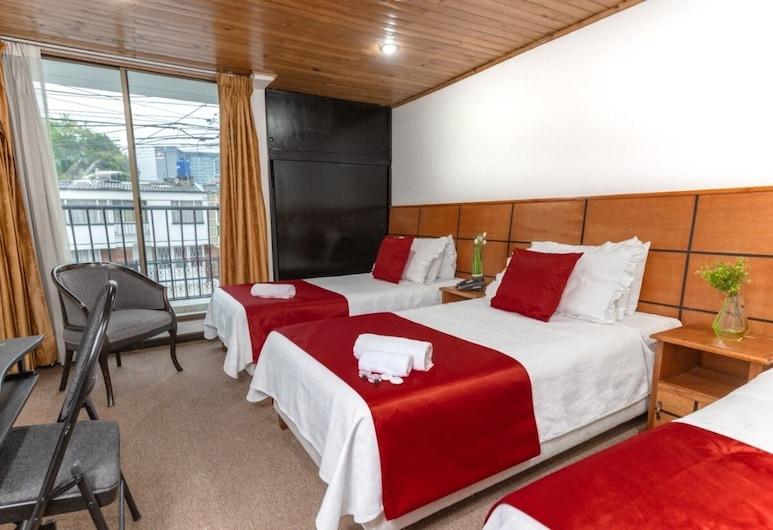 Casa Quinta Embajada, Bogotá, Triple Room, Guest Room