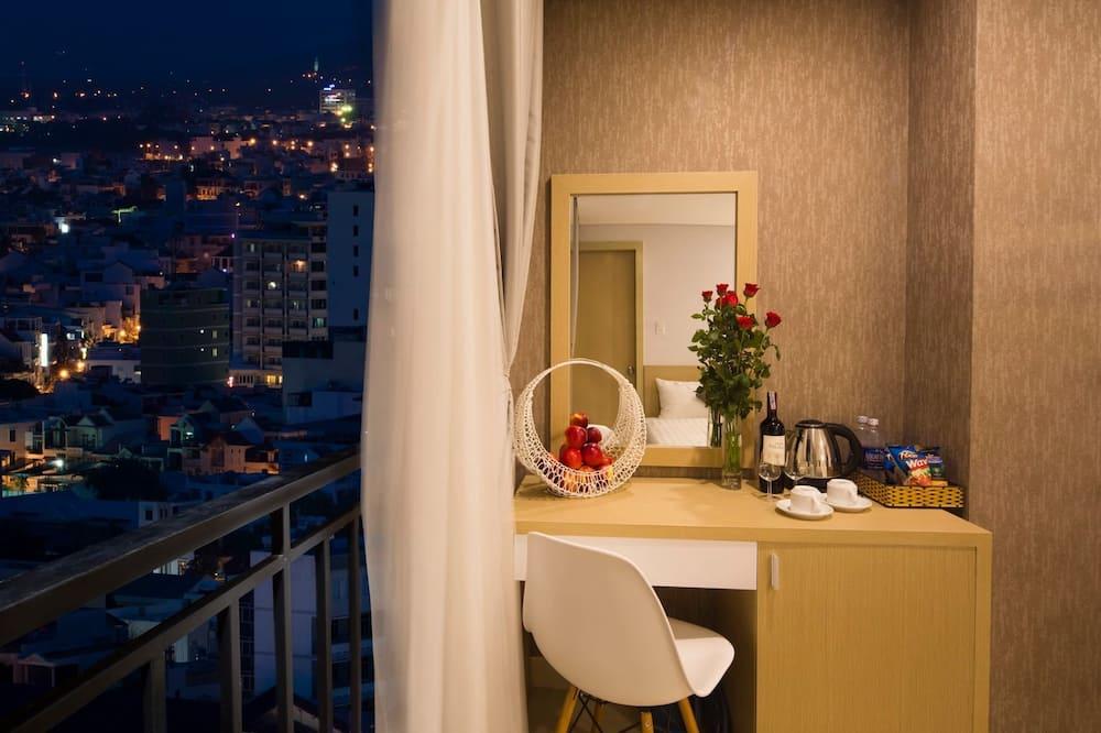 Deluxe-værelse med dobbeltseng eller 2 enkeltsenge - byudsigt - Udsigt fra værelset