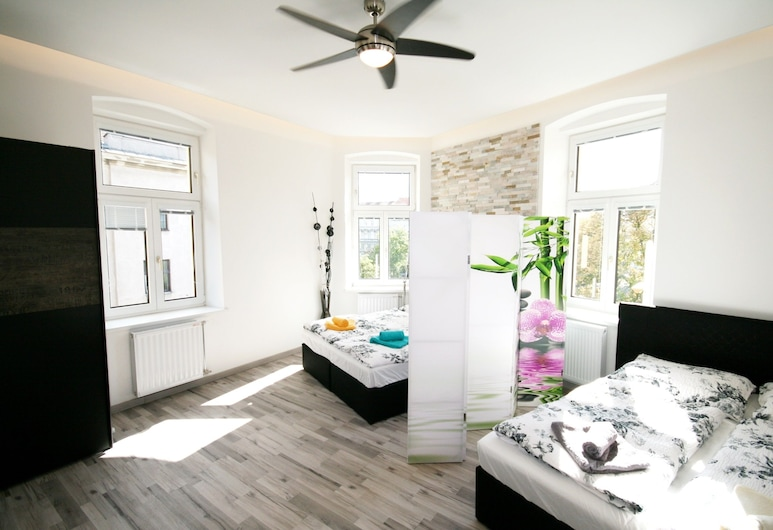 Vienna CityApartments-Luxury Apartment 2, Wien, City-Apartment, 1 Schlafzimmer, Nichtraucher, Küche, Wohnbereich