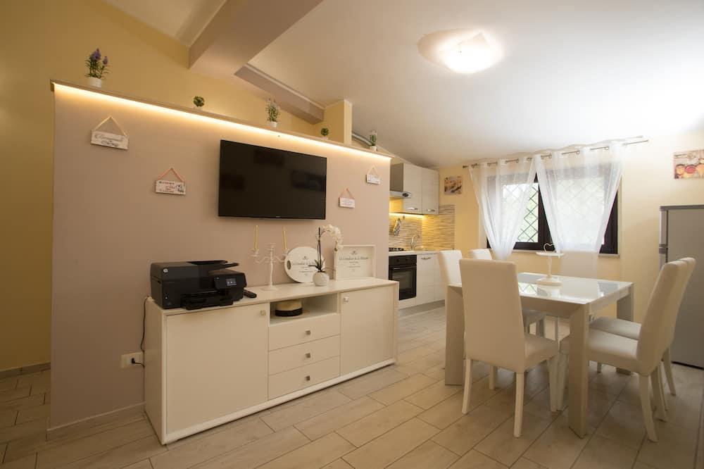 Appart'hôtel Luxe, 4 chambres - Restauration dans la chambre