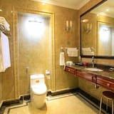 Suite, Stadtblick - Badezimmer