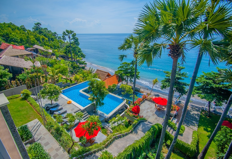Amed Dream Ibus Beach Club, Karangasem, View from Hotel