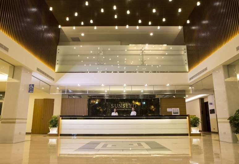 Sunseed Interational Villa Hotel, Chiayi Şehri, Lobi
