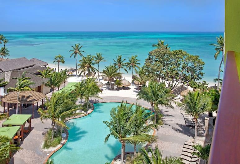 All Inclusive Holiday Inn Resort Aruba, Norda, Partial Ocean View, Balkons