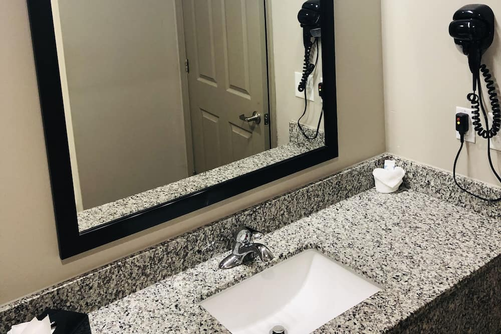 Deluxe-værelse - 1 kingsize-seng - Badeværelse