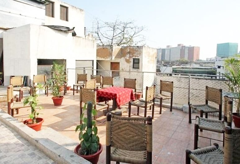Hotel The W, New Delhi, Dinerruimte buiten