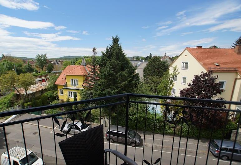 Imperial-Apartments Schönbrunn, Bécs, apartman, 1 hálószobával, erkély, Erkély