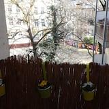 ベーシック アパートメント 2 ベッドルーム (Hüttenstraße, 40215 Düsseldorf) - バルコニー