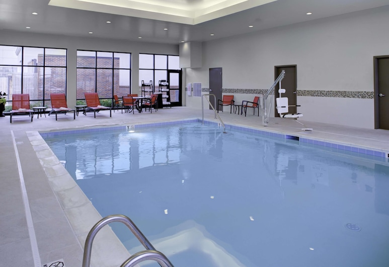 Hampton Inn And Suites By Hilton Columbus Scioto Downs, Columbus, Indoor Pool