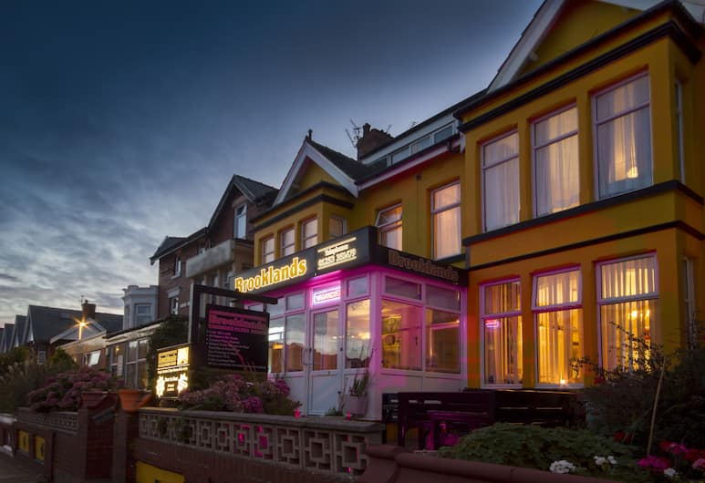 Brooklands Over 50's Only, Blackpool, Hotel Front – Evening/Night