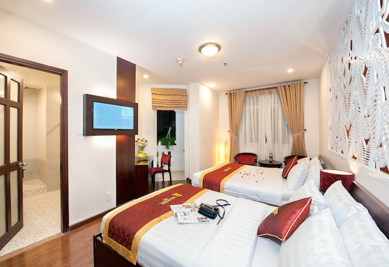 Bali Boutique Ben Thanh Hotel, Ho Chi Minh City, Deluxe Twin Room, Guest Room