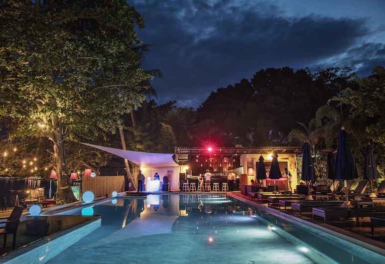 Chura Samui Resort, Ko Samui, Bar en bord de piscine
