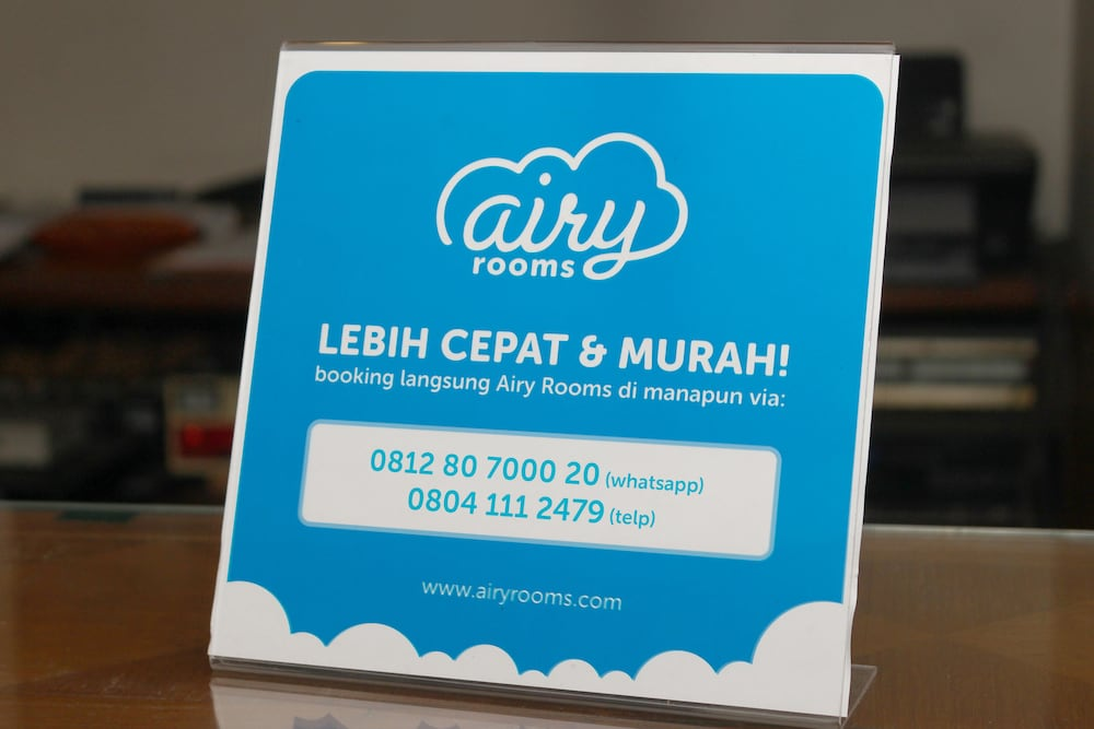 Airy Eco Dago Citarum Juanda 50 Bandung Reception