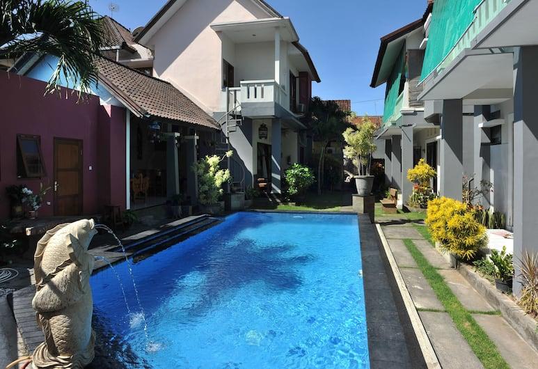 艾里峇里島雷農圖卡德萬隆 10 巷 27 號飯店, 登帕薩, 游泳池