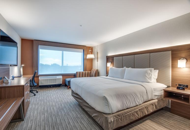 Holiday Inn Express & Suites Dallas North - Addison, Dallas, Zimmer, 1King-Bett, barrierefrei, Nichtraucher (Hearing, Roll-In Shower), Zimmer