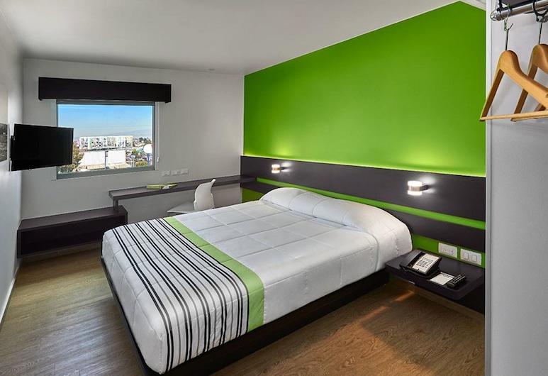 City Express Junior Toluca Zona Industrial, Toluca, Standardní pokoj, dvojlůžko (180 cm), Pokoj