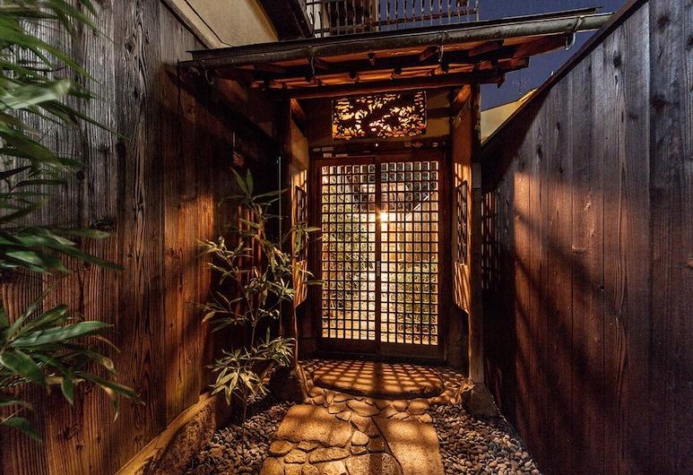 Machiya Maya Gion, Kyoto, Išorė