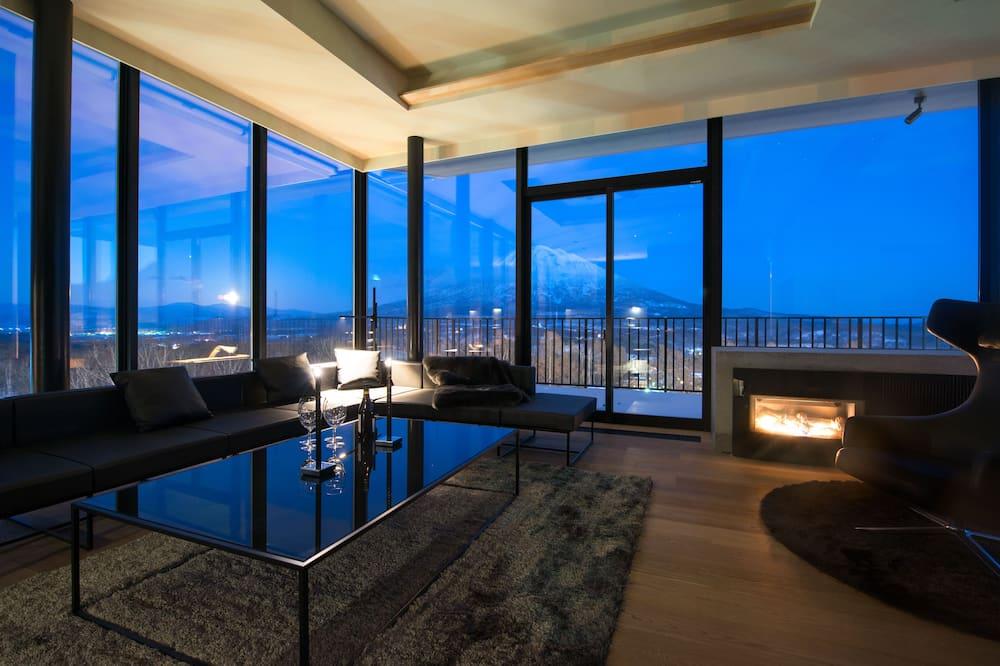 Ateliérový apartmán ( 601 ) - Obývacie priestory