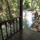 River Challet - Balkon
