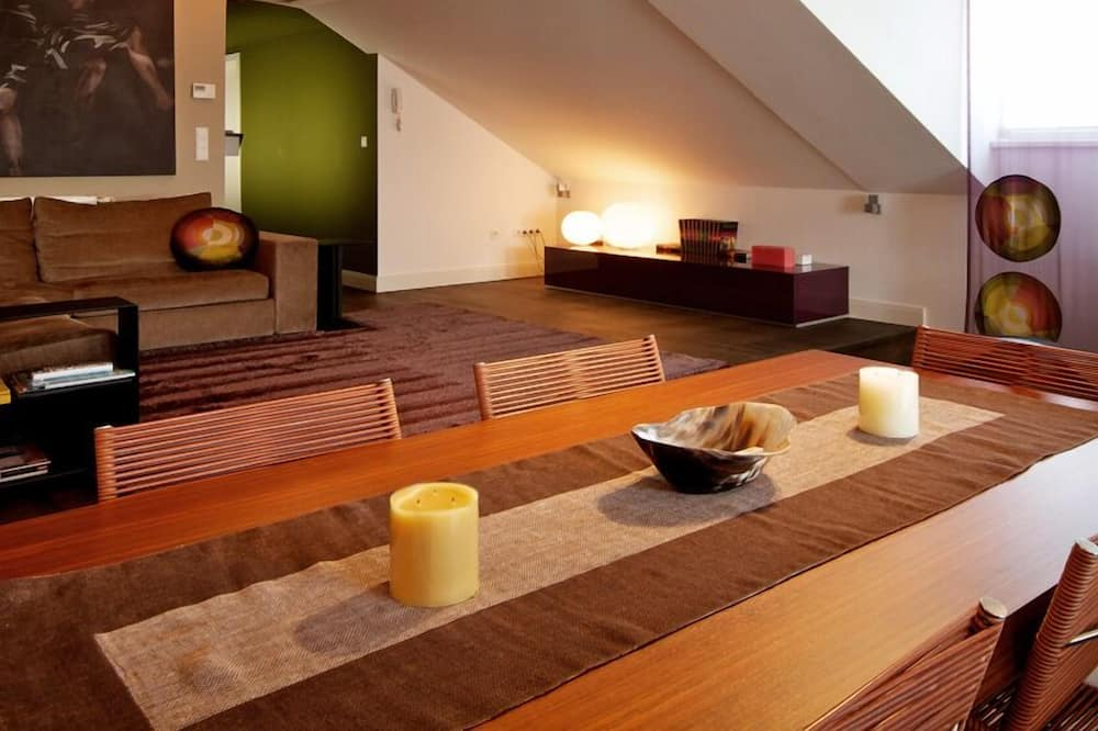 Design Penthouse, 1 Bedroom, Terrace (Cleaning fee 40 EUR) - In-Room Dining