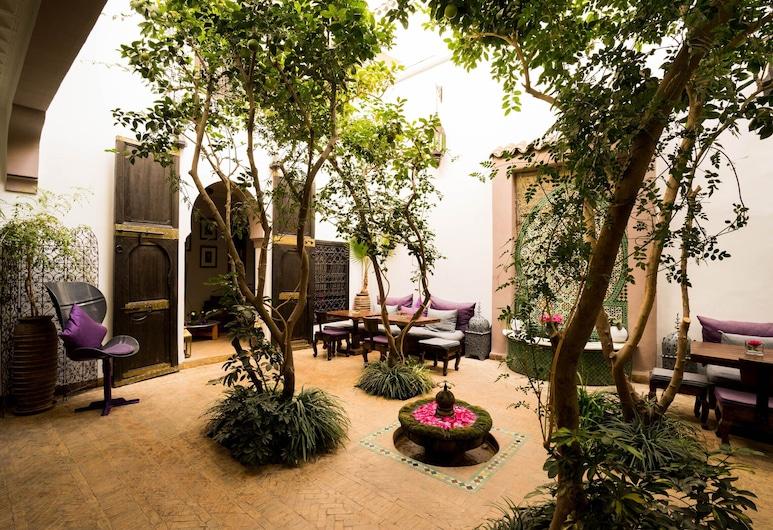 Riad Houdou, Marrakech, Сад