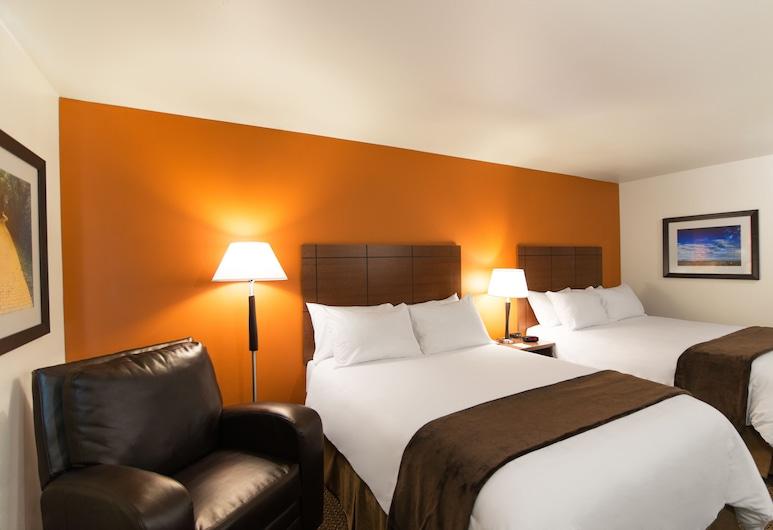 My Place Hotel-Lubbock, TX, Lubbock, Szoba, 2 queen (nagyméretű) franciaágy, Vendégszoba