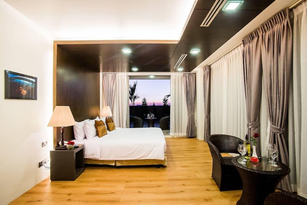 Suite, 1 très grand lit, non-fumeurs, vue ville - Chambre