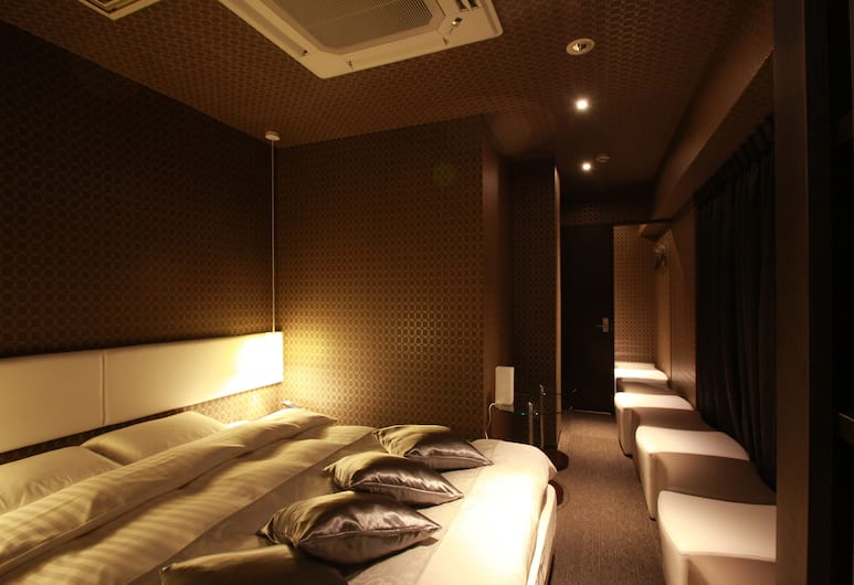 ホテル エドヤド - アダルト オンリー, 台東区, Double Room (For 1 people), Check out by 10 AM each day even if staying additional nights Smoking, 客室