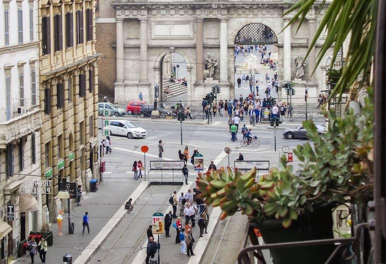 Luna Su Villa Borghese - Luxury Rooms, Roma, Suite Junior, Balcone