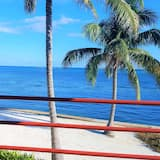 Appart'hôtel Standard, 1 grand lit, vue océan - Balcon
