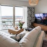 Penthouse Design Apartment - Svetainė