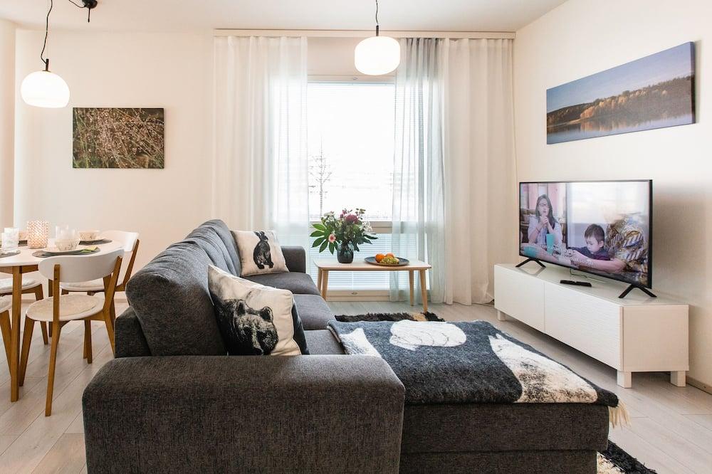 Nordica Design Apartment - Svetainė